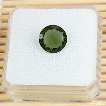 Moldavite cut 11mm 3.1ct
