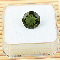 Moldavite brus 12mm 5.02ct