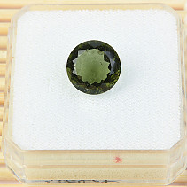 Moldavite cut 11mm 3.68ct