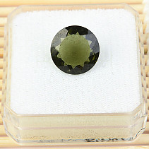 Moldavite cut 13mm 5.04ct