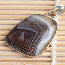 Pendant agate extra Ag 925/1000 12,5g