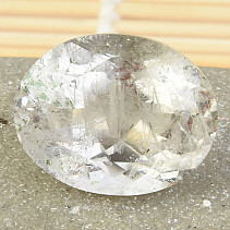 Crystal with inclusions oval brus 57.16ct