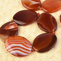 Agate bracelet larger oval