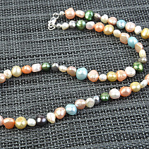 Pearls colorful necklace 51cm