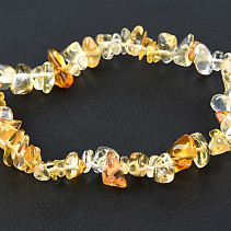 Citrine Bracelet - chopped shapes