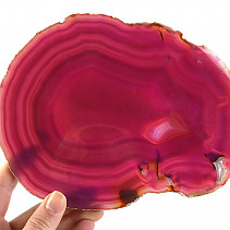 Slices of pink agate (Brazil) 384g