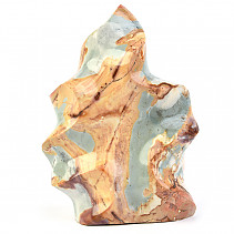 Jasper colorful decorative flame 1876g (Madagascar)