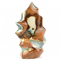 Jasper colorful decorative flame 783g