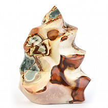 Jasper colorful decorative flame 2928g (Madagascar)