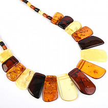 Amber Necklace Rosette Extra Mix 46cm (22.5g)