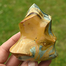 Jasper Colorful Decorative Flame (Madagascar) 316g