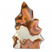 Jasper Colorful Decorative Flame (Madagascar) 509g
