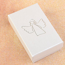 Gift box gray angel 8 x 5cm
