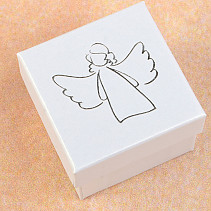 Gift box gray angel 5 x 5cm