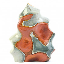 Jasper Colorful Decorative Flame (Madagascar) 1268g