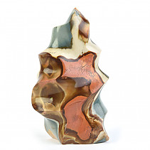 Jasper colorful decorative flame 656g