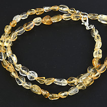 Citrine Necklace Troml Mini 50cm