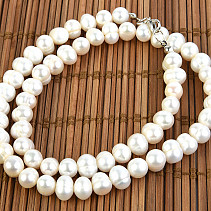Pearls White Necklace 50cm