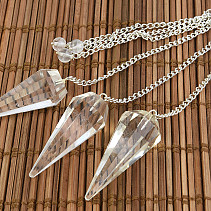 Crystal pendulum long