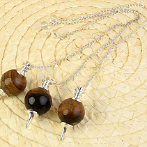 Tiger eye pendulum