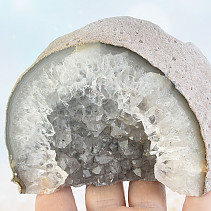 Natural geode from agate (Brazil) 573g