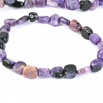 Pick up bracelet irregular stones