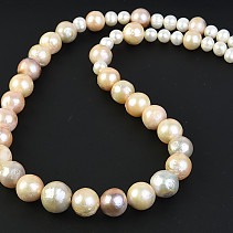 Pearl Rainbow Necklace 53cm Ag fastening