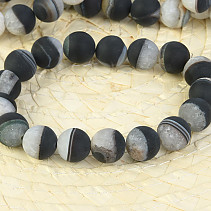 Agate black bracelet mat 12mm