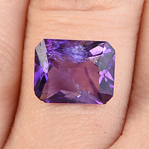 Cut Amethyst Rectangle 3.35ct