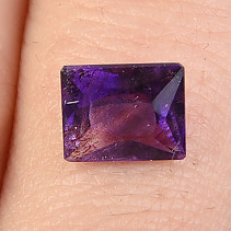 Cut amethyst rectangle 1.45ct