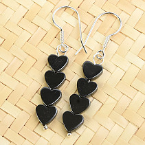 Hematite Earrings Ag Ag Hooks