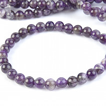 Amethyst beaded bracelet 6mm