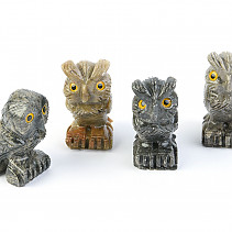 Marble owl gray 35 - 40mm
