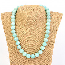Amazonit Necklace Beads 12mm 46cm