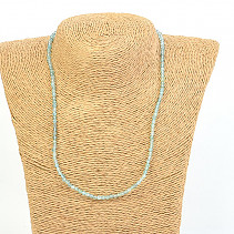 Apatite Balls 4mm Cut Necklace 45cm