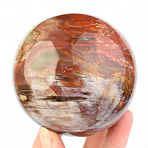 Ball fossilized wood 83mm