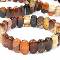 Agate bracelet 15mm wide