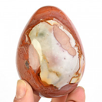Smooth jasper egg 307g