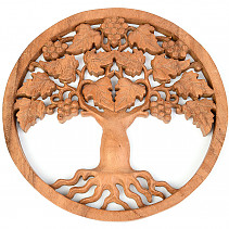 Vine carved relief 30cm