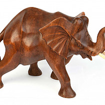 Large elephant with trunk up 25cm