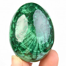 Selective malachite smooth egg 47x36mm