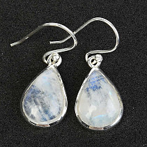Moonstone Drop Earrings Ag 925/1000