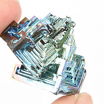 Bismuth colored crystal 21.2g
