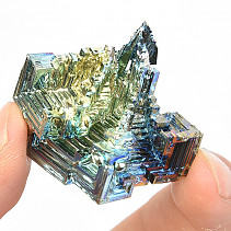 Bismuth colored crystal 38g