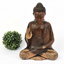 Big Buddha, dark wood 31cm