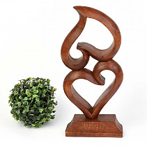 Abstract heart wood 30cm