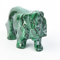 Malachite lion 198g