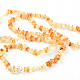 Citrine extra large stones necklace 90 cm